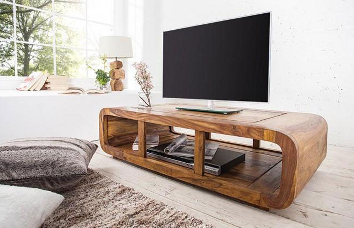 خرید میزتلویزیون چوبی