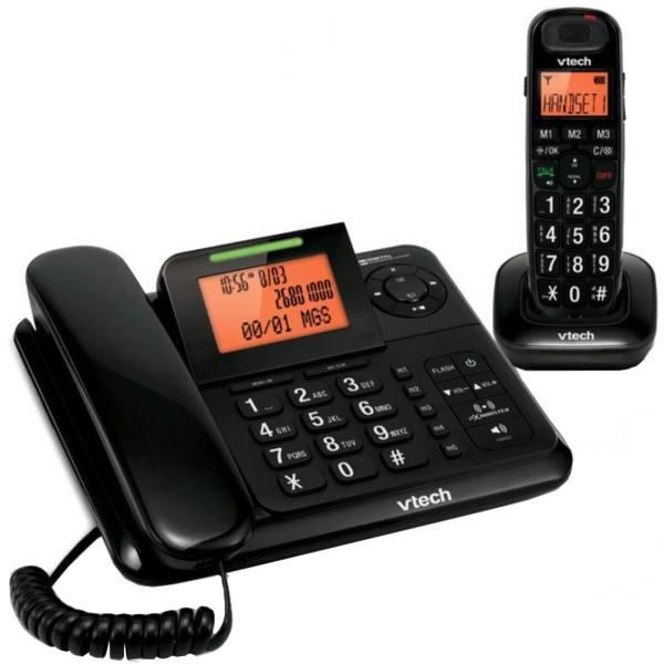 تلفن وی تک