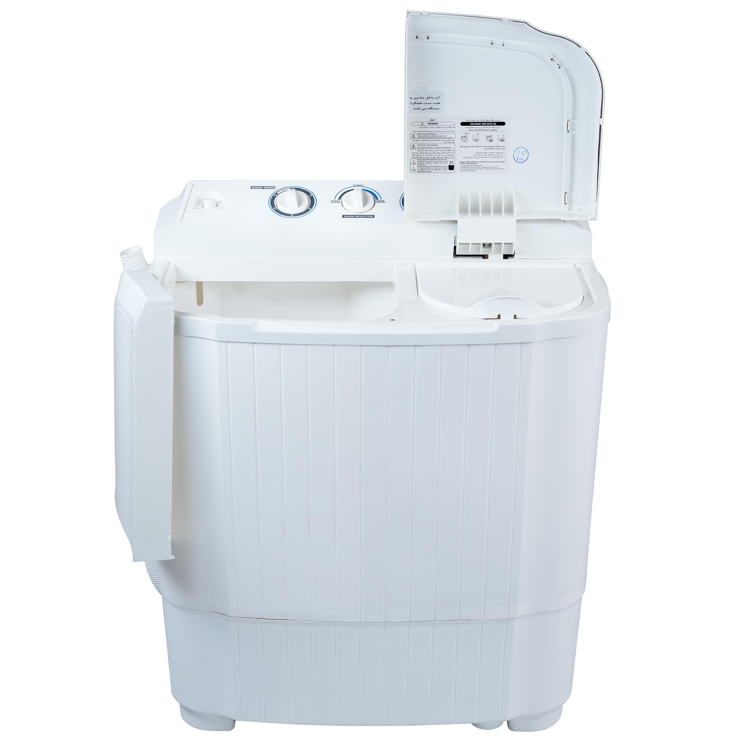 ماشین لباسشویی با ظرفیت 4.5 کیلوگرم